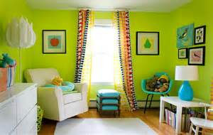 colorful nursery 23 ideas to paint nursery walls in bright colors kidsomania
