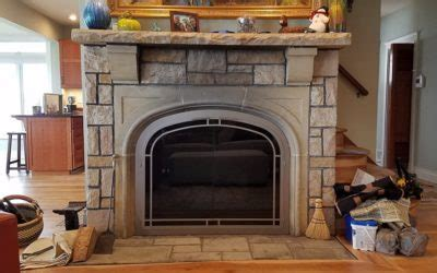 Fireplace Doors Michigan by Custom Projects Fireplace Inserts Wood Pellet Stoves