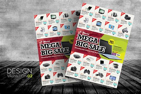 Creative Market Big Sale Promotion Flyers 02 O Jpg 1380017814 Promotional Flyer Template