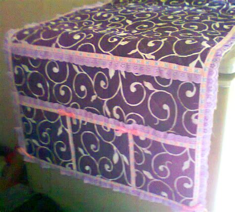 Kotak Aksesoris Uk 10x10x25 Motif Floral taplak kulkas motif hikmah collection