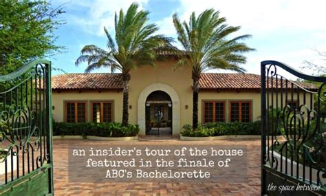bachelor house an insider s tour of the quot bachelorette quot house in cura 231 ao