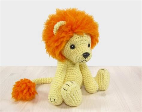 amigurumi lion pattern amigurumi pattern crochet tutorial with