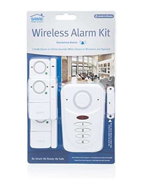 sabre home security alarm set wireless erics electronics