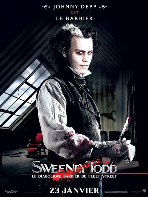 film johnny depp tentang narkoba affiche du film sweeney todd le diabolique barbier de