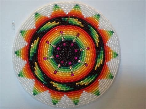 American Beadwork For Sale Medallion By