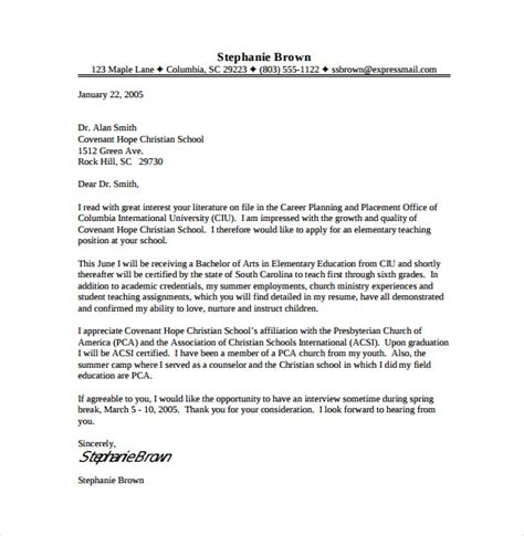 11  Teacher Cover Letter Templates ? Free Sample, Example