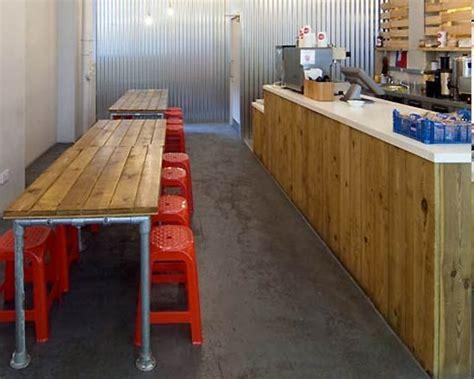 small restaurant design ideas in minimalist interior