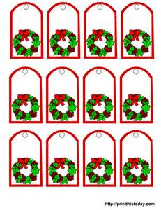 Free printable mistletoe christmas gift tags