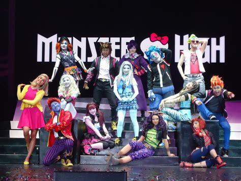 show monster el show monster high en vivo gira mundial tycoon mattel