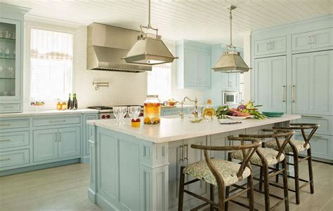 Light Blue Kitchen Light Blue Kitchen Cabinets