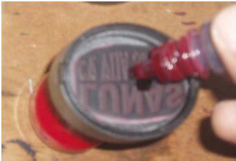 Isi Tinta Stempel Cara Isi Ulang Refill Tinta Stempel Warna Percetakan Dan