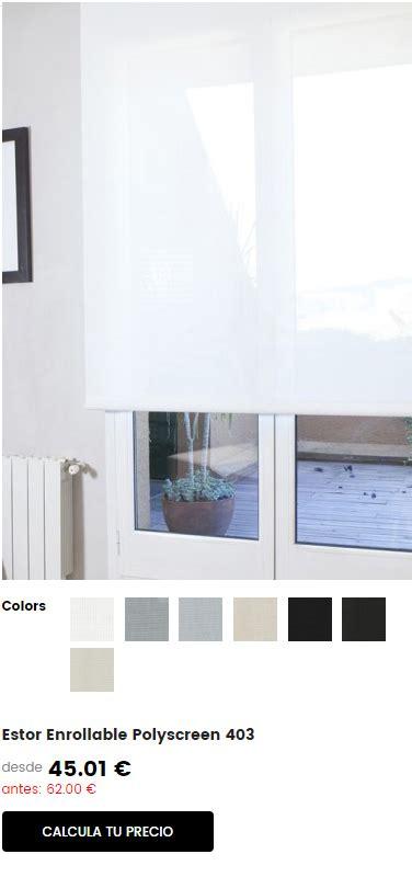 cortinas y estores online estores y cortinas bandalux online al mejor precio