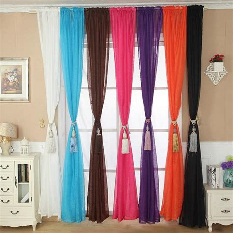 10 Creative Curtain Displays Room Bath