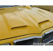 1969 Pontiac Firebird 350 Hood Scoops