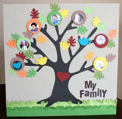 family crafts weekend workshop family tree craft thifty sue