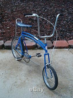 schwinn swing bike for sale swing bike from 1970 s banana seat muscle bicycle bmx