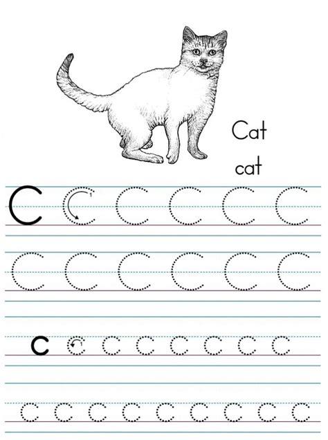 free printable letter c worksheets for kindergarten