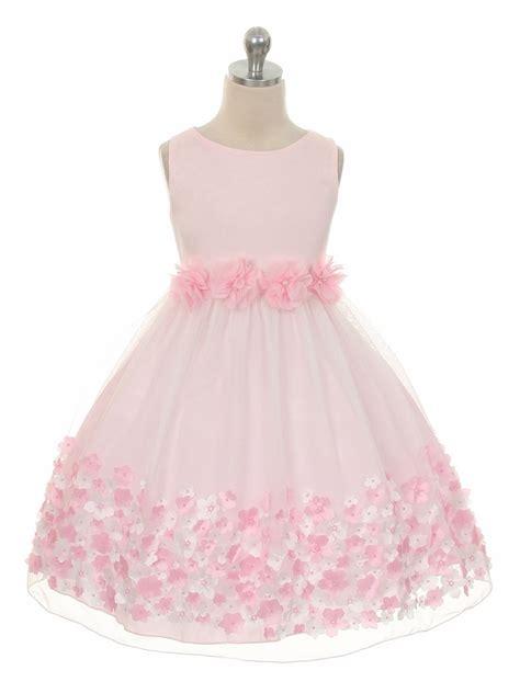 Pink Flower Dress pink flower mesh dress