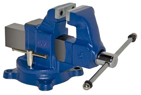 Usab2c Heavy Duty Industrial Machinists Bench American Made Vise Swivel Base