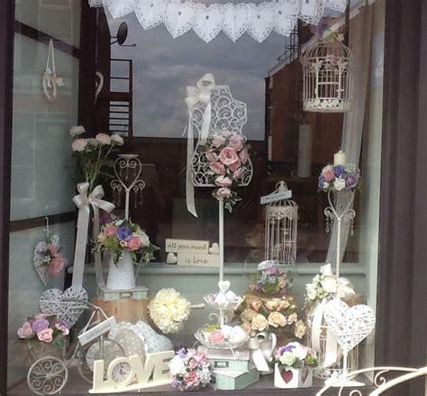 vintage wedding window display wedding window store