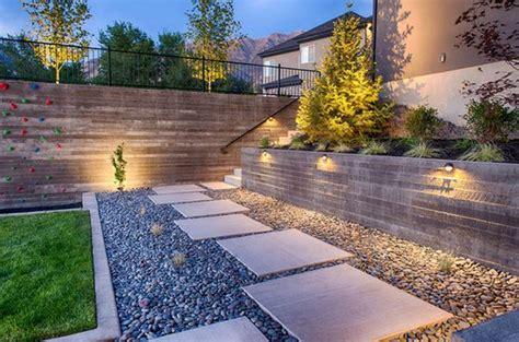 pebbles for backyard rock garden design ideas to create a natural and organic
