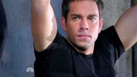 chuck couch guys in trouble zachary levi and adam baldwin in chuck