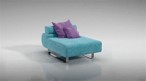 small blue couch small blue sofa 3d model obj cgtrader com