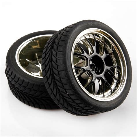 4x Rc Drift Pp Tires Wheel D6nkr Pp0370 For Hpi 1 10 Road Car on road car rc tires wheels 1 10 scale 5 spoke for hsp hpi ebay