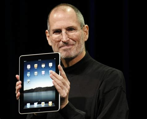 Steve Jobs Ipad Apple Technologies Presentation Research Steve Ppt