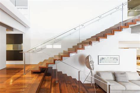 Zig Zag Stair mrail modern stairs zig zag stairs