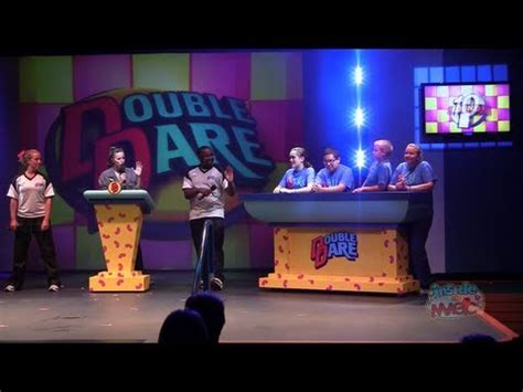 theme hotel game youtube double dare live game show on stage at nick hotel in