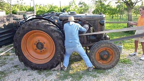 trattori a testa calda 1 festa trebbiatura far fio accensione landini testa