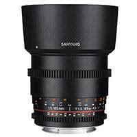 Samyang Lens 85mm T15 Vdslr Mk Ii For Sony Nex buy canon ef 16 35mm f 2 8l ii usm ultra wide angle zoom