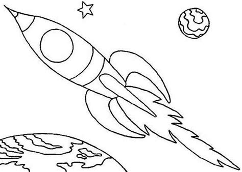 space rocket colouring pages birthdays pinterest