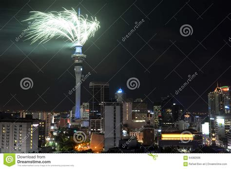 new year in auckland 2016 auckland sky tower firework display to celebrate 2016 new