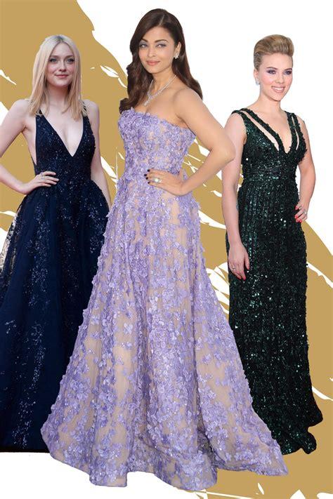Promo Promo Termurah Dress Gucci V see the best elie saab carpet dresses of all time vogue arabia