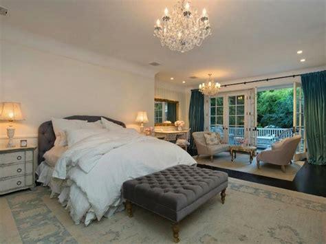 celebrity bedroom teal curtains transitional bedroom rachel ashwell