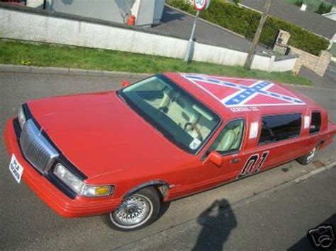 general limo ebay general lee s lincoln limo sidekick