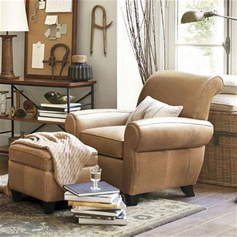 Pinterest The World S Catalog Of Ideas Leather Reading Chair And Ottoman