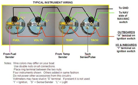 pontoon tachometer problem page  iboats boating forums