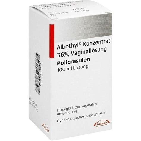Albothyl 10 Ml albothyl konzentrat 100 ml besamex de