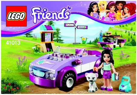 Lego Friends Auto by Friends Lego Emma S Sports Car Instructions 41013 Friends
