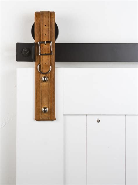 Barn Door Locks This On