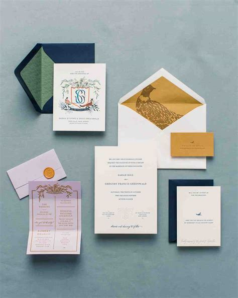 Wedding Invitations New Jersey by A Charmingly Bespoke Fall Wedding In New Jersey Martha