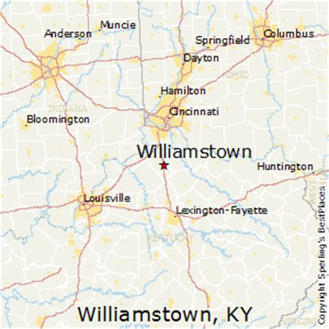 best places to live in williamstown, kentucky