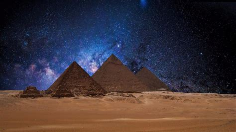 dark wallpaper egypt egyptian pyramids at night wallpaper wallpaper studio 10