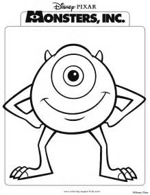 disney monsters inc coloring pages coloring home