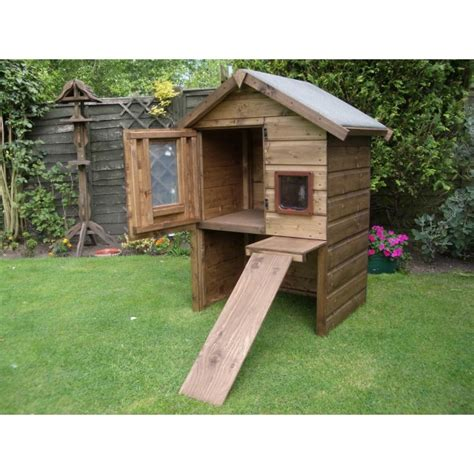 Outdoor Cat Houses by Cool Feral Cat House Design Cat Forum Cat Discussion