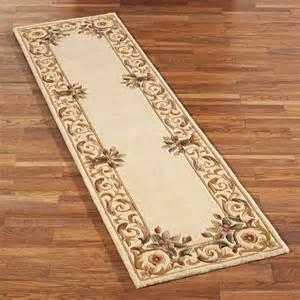 harmony border wool rug runner