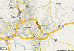 carolina map asheville map of springhill suites by marriott asheville asheville